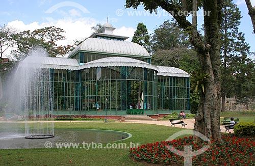Assunto: Palácio de Cristal (1884) / Local: Petrópolis - Rio de Janeiro (RJ) - Brasil / Data: 03/2012