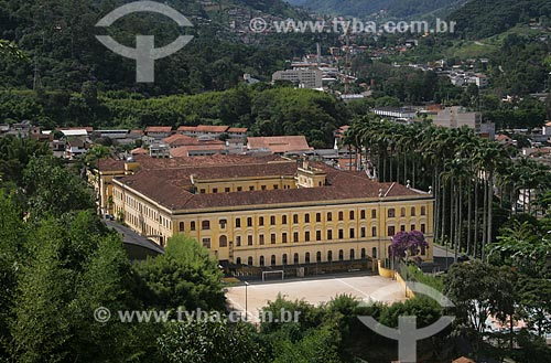 Assunto: Vista do Colégio Anchieta (1909) / Local: Nova Friburgo - Rio de Janeiro (RJ) - Brasil / Data: 03/2012