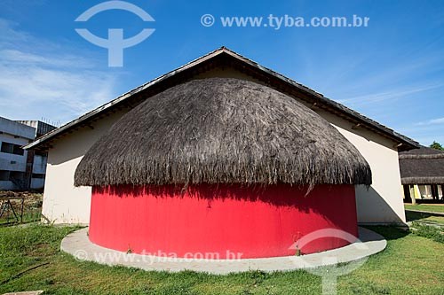 Assunto: Prédio do Núcleo de Educação Intercultural da Universidade Federal de Goiás / Local: Goiânia - Goiás (GO) - Brasil / Data: 05/2014