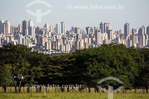 Assunto: Região central de Goiânia vista da campus da Universidade Federal de Goiás / Local: Goiânia - Goiás (GO) - Brasil / Data: 05/2014