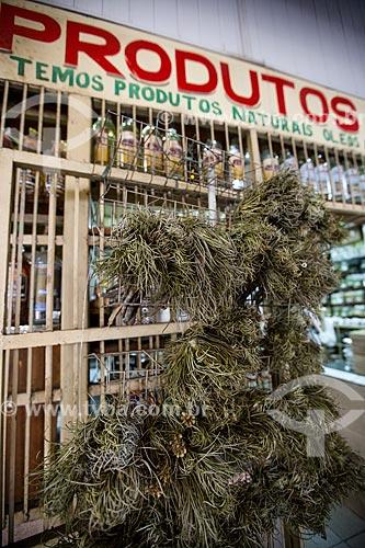 Assunto: Arnica à venda no Mercado Municipal de Goiânia / Local: Goiânia - Goiás (GO) - Brasil / Data: 05/2014