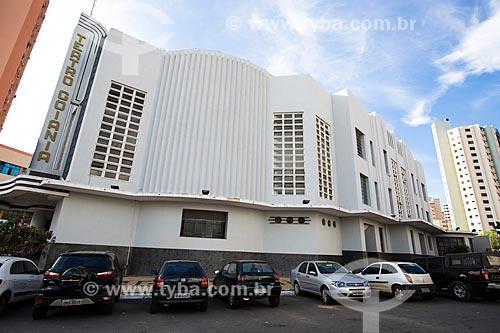 Assunto: Fachada lateral do Cine-Teatro Goiânia (1942) / Local: Goiânia - Goiás (GO) - Brasil / Data: 05/2014