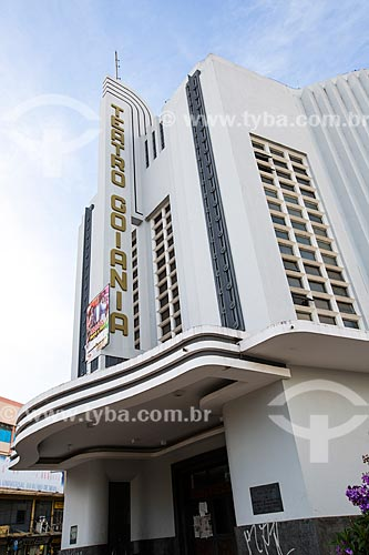 Assunto: Fachada do Cine-Teatro Goiânia (1942) / Local: Goiânia - Goiás (GO) - Brasil / Data: 05/2014