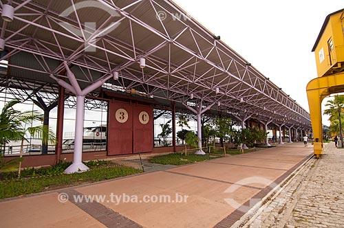 Assunto: Armazém 3 da Estação das Docas - antigo Porto de Belém também conhecido como Boulevard das Feiras e Exposições / Local: Belém - Pará (PA) - Brasil / Data: 10/2010