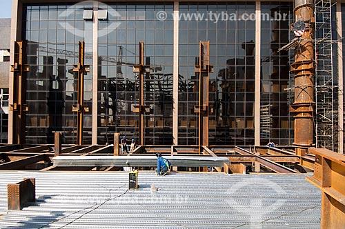 Assunto: Obras de ampliação do Tribunal de Justiça do Rio de Janeiro / Local: Centro - Rio de Janeiro (RJ) - Brasil / Data: 05/2011