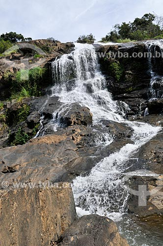 Assunto: Cascata das Antas no Ribeirão das Antas / Local: Poços de Caldas - Minas Gerais (MG) - Brasil / Data: 04/2014