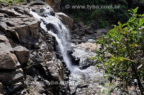Assunto: Cascata das Andorinhas no Ribeirão das Antas / Local: Poços de Caldas - Minas Gerais (MG) - Brasil / Data: 04/2014