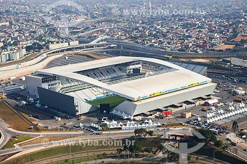 Assunto: Foto aérea da Arena Corinthians / Local: Itaquera - São Paulo (SP) - Brasil / Data: 06/2014