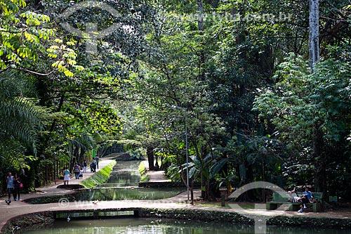 Assunto: Córrego Buriti no Bosque dos Buritis / Local: Goiânia - Goiás (GO) - Brasil / Data: 05/2014