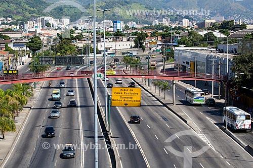 Assunto: Avenida Brasil próximo à Benfica / Local: Benfica - Rio de Janeiro (RJ) - Brasil / Data: 05/2014