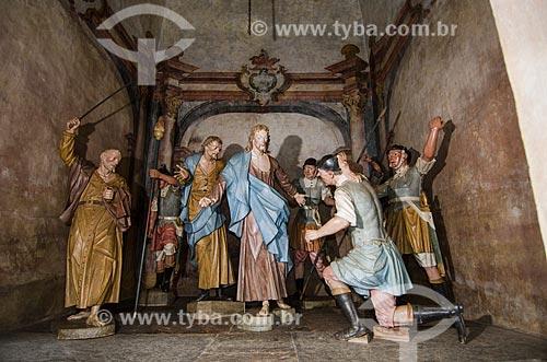 Assunto: Esculturas do Passos da Paixão  -  Santuário de Bom Jesus de Matosinhos / Local: Congonhas - Minas Gerais (MG) - Brasil  / Data: 06/2012
