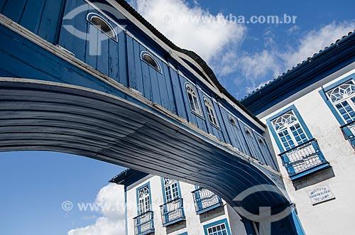 Assunto: Passadiço da Casa da Glória - Localizado na Rua da Glória / Local: Diamantina - Minas Gerais (MG) - Brasil / Data: 06/2012