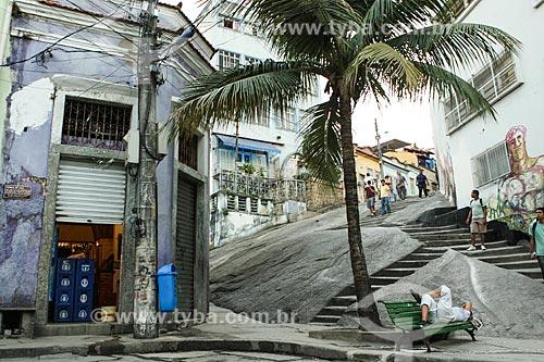 Assunto: Escadaria da Pedra do Sal  / Local: Saúde - Rio de Janeiro (RJ) - Brasil / Data: 07/2012