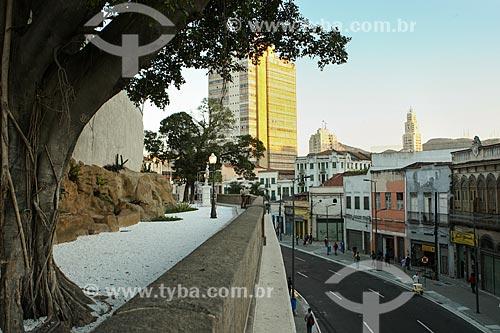 Assunto: Jardim Suspenso do Valongo (1906) / Local: Saúde - Rio de Janeiro (RJ) - Brasil / Data: 07/2012