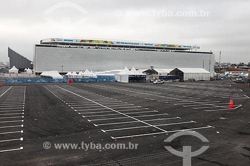 Assunto: Estacionamento da Arena Corinthians / Local: Itaquera - São Paulo (SP) - Brasil / Data: 06/2014