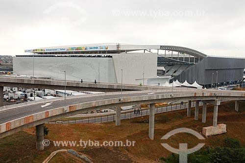 Assunto: Vista geral da Arena Corinthians / Local: Itaquera - São Paulo (SP) - Brasil / Data: 06/2014