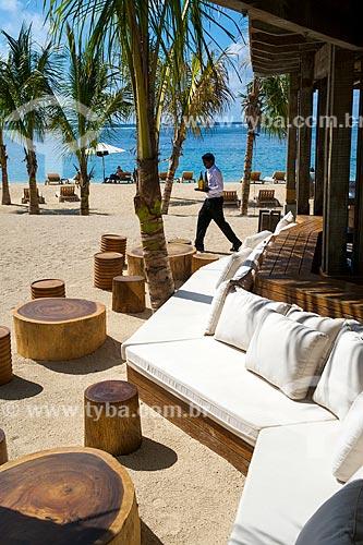 Assunto: Praia na Península Le Morne Brabant próximo ao Hotel Saint Regis Mauritius Resort / Local: Distrito de Rivière Noire - Maurício - África / Data: 11/2012