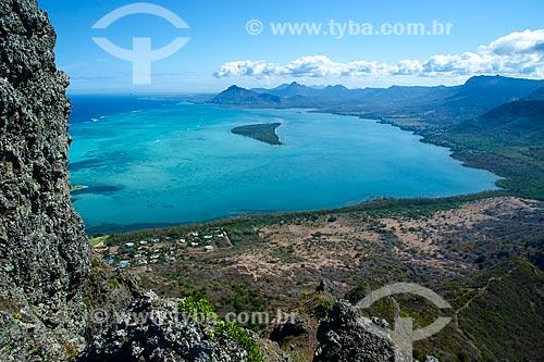 Assunto: Vista geral da Península Le Morne Brabant / Local: Distrito de Rivière Noire - Maurício - África / Data: 11/2012