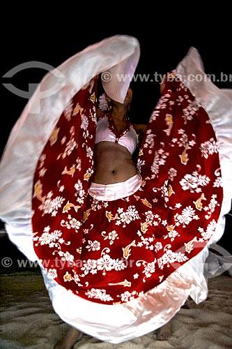 Assunto: Apresentação de dança da música Sega - estilo musical e dança típicos das Ilhas Maurício e região / Local: Maurício - África / Data: 11/2012