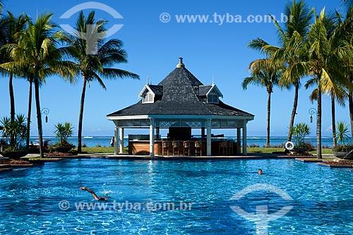 Assunto: Piscina do Heritage Le Telfair Golf & Spa Resort / Local: Distrito de Savanne - Maurício - África / Data: 11/2012