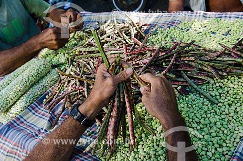Assunto: Feijão verde no Mercado de Caicó   / Local: Caicó - Rio Grande do Norte (RN) - Brasil / Data: 07/2012