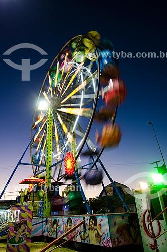 Assunto: Roda-Gigante / Local: Caicó - Rio Grande do Norte (RN) - Brasil / Data: 07/2012