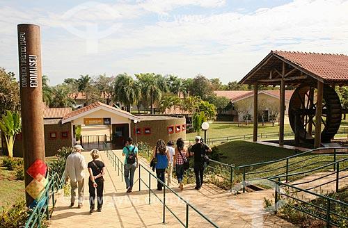 Assunto: Entrada do Ecomuseu de Itaipu / Local: Foz do Iguaçu - Paraná (PR) - Brasil / Data: 05/2008