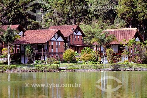 Assunto: Casa típica em estilo europeu na Granja Comary / Local: Teresópolis - Rio de Janeiro (RJ) - Brasil / Data: 08/2010