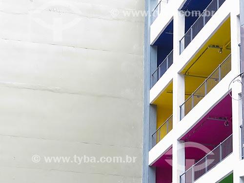 Assunto: Edifício Garagem na Rua Sete de Setembro / Local: Porto Alegre - Rio Grande do Sul (RS) - Brasil / Data: 04/2014