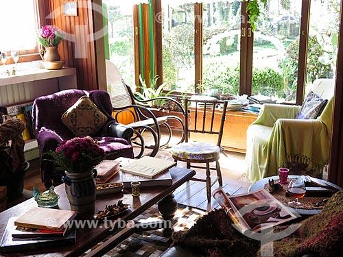 Assunto: Interior de casa durante o inverno / Local: Canela - Rio Grande do Sul (RS) - Brasil / Data: 05/2014