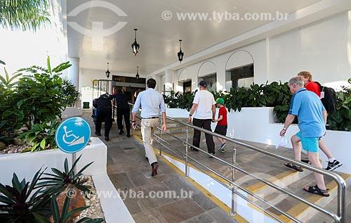 Assunto: Entrada do Hotel Tropical Manaus / Local: Manaus - Amazonas (AM) - Brasil / Data: 06/2014