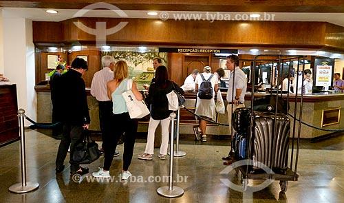 Assunto: Recepção do Hotel Tropical Manaus / Local: Manaus - Amazonas (AM) - Brasil / Data: 06/2014