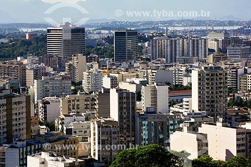 Assunto: Prédios da Tijuca vistos do Morro do Salgueiro / Local: Tijuca - Rio de Janeiro (RJ) - Brasil / Data: 07/2014