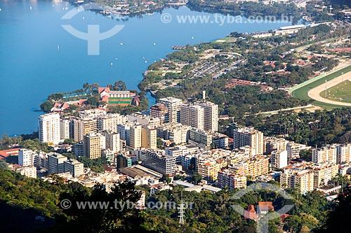 Assunto: Vista de prédios na Lagoa / Local: Lagoa - Rio de Janeiro (RJ) - Brasil / Data: 08/2014