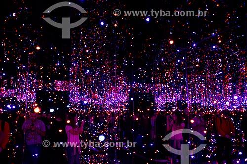 Exposição Yayoi Kusama - Obsessão Infinita - no Instituto Tomie Ohtake  - São Paulo - São Paulo (SP) - Brasil