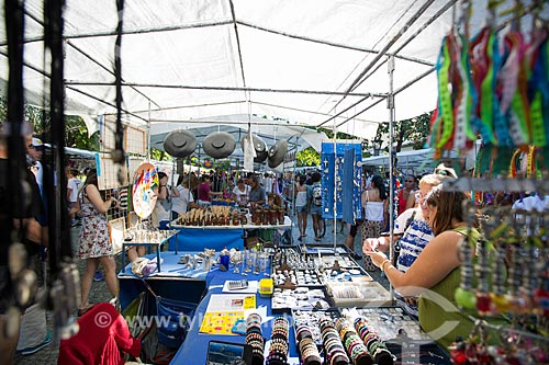 Barracas na Feira Hippie de Ipanema  - Rio de Janeiro - Rio de Janeiro (RJ) - Brasil