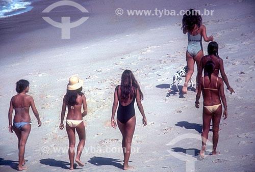 Mulheres no Parque Natural Municipal da Prainha  - Rio de Janeiro - Rio de Janeiro (RJ) - Brasil