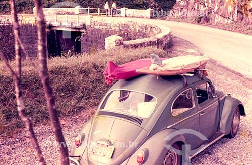 Fusca com Pranchas de surf  - Paraná (PR) - Brasil