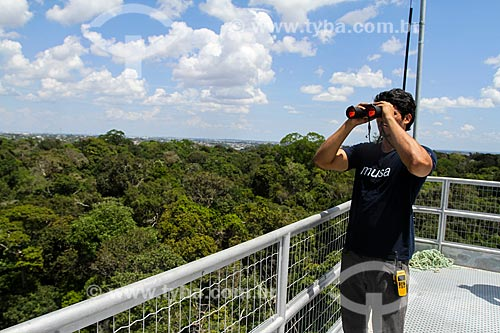 Torre de observação e estudos do Museu da Amazônia (MUSA)  - Manaus - Amazonas (AM) - Brasil