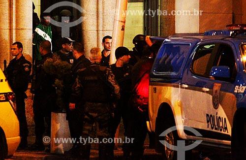 Bandido é preso após manter reféns dentro da Igreja Nossa Senhora da Paz  - Rio de Janeiro - Rio de Janeiro (RJ) - Brasil