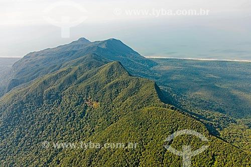 Praia do Rio Verde e Costão da Juréia - Estação Ecológica de Juréia-Itatins  - Iguape - São Paulo (SP) - Brasil