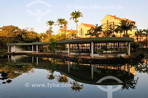 Grande Hotel no complexo termal do Barreiro  - Araxá - Minas Gerais (MG) - Brasil