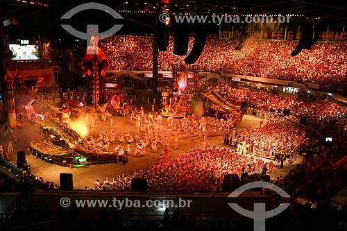 Festival de Folclore de Parintins - Boi Garantido  - Parintins - Amazonas (AM) - Brasil