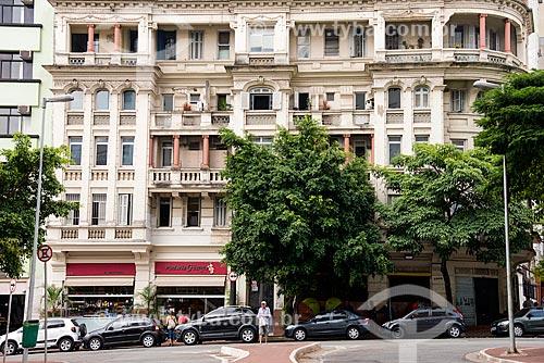 Edifício antigo na esquina do Largo do Arouche  - São Paulo - São Paulo (SP) - Brasil