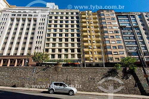 Rua da Consolação vista da Rua Quirino de Andrade  - São Paulo - São Paulo (SP) - Brasil