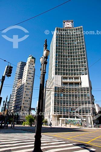 Edifício do Hotel Jaraguá - cruzamento da Rua da Consolação com a Avenida São Luis  - São Paulo - São Paulo (SP) - Brasil