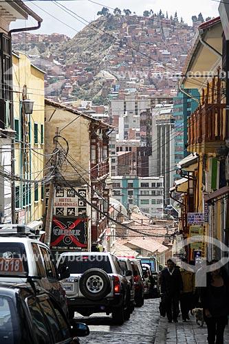 Rua de La Paz  - La Paz - Departamento de La Paz - Bolívia