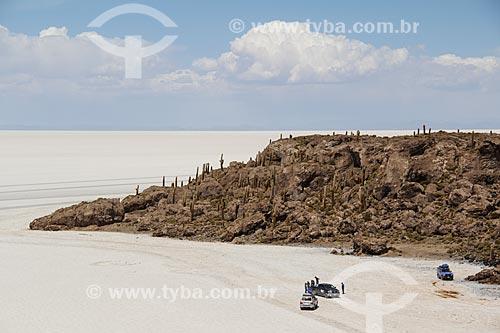 Isla Pescado (Ilha do Pescado) - também conhecida como Isla Incahuasi  - Departamento Potosí - Bolívia