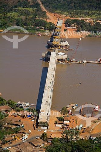 Construção da Ponte Rondon-Roosevelt (2014)  - Porto Velho - Rondônia (RO) - Brasil