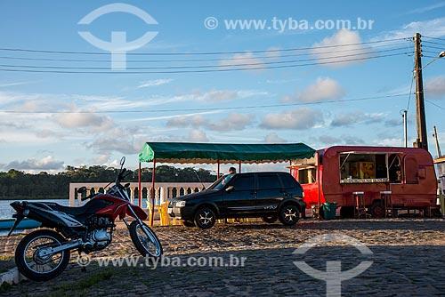 Lanchonete às margens do Rio Maraú  - Maraú - Bahia (BA) - Brasil